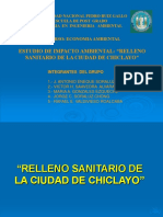Presentacion Power Point RELLENO SANITARIO