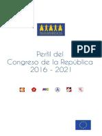 Perfil Del Congreso de La República 2016-2021
