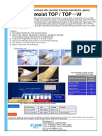 Catalog of Plus Moist TOP and TOP-W-E
