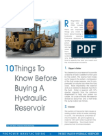 10 Things to Know Before Buying a Hydraulic Reservoir