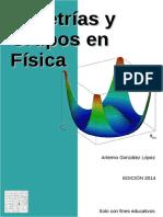 Simetrías y Grupos en Física - Artemio González