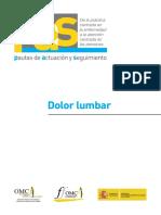 Dolor Lumbar - Guia PAS