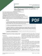 Bacterial Keratitis Risk Factors Pathogens and Antibiotic Susceptibilities a 5year Review of Cases at Dubai Hospital Dubai 2155 9570 1000591