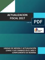 Actualizacion Fiscal i (Umas - Rmf 2017)