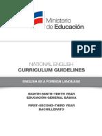 Curriculum Guidelines EFL