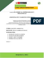 Situacion Actual Del Manejo de de Los Residuos Solidos Gestion Ambiental