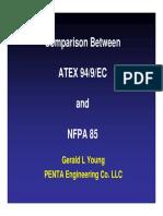 Comparison Between Atex94 9 Ec and Nfpa 85