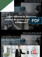 Ramiro Francisco Helmeyer Quevedo - ¿Qué Diferencia Hay Entre Control de Acceso y Control de Asistencia?