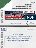 Seminario Norma NCh170 José Miguel Pascual