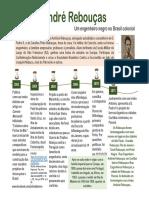 André Rebouças - Infográfico