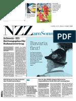 Gesamtausgabe NZZ Am Sonntag 2018-07-08
