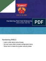 Hardening Rhel5