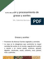 Extracción y Procesamiento Grasas y Aceites
