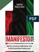 Ppp Manifesto 2018 - English