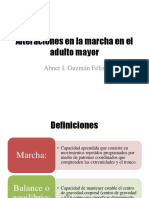 Alteraciones en La Marcha en El Adulto Mayor