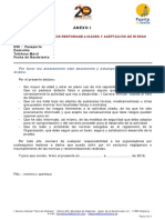 I Carrera Vertical Faro de Chipiona-Hoja de Exoneración Responsabilidades