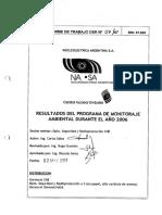 Central Nuclear Embalse - EsIA - Tomo 10 - Resultados del Programa de monitoraje radiológico ambiental (2006-2008)