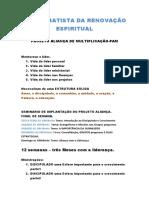 Projeto Aliança de Multiplicação