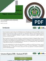 Final Informe de Gestion 2018 y Presentación de Comando 25012018