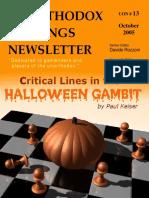 Halloween Gambit