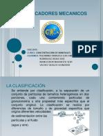 CLASIFICADORES MECANICOS PPTX