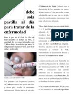 VIH EN PERU