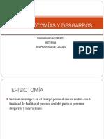 EPISIOTOMIA Y EPISIORRAFIA