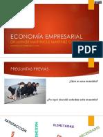 Sesión 1 Principios de Economía