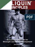 Poliquin Principles 3rd Edition - Poliquin Group Editorial Staff