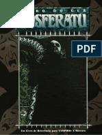 vtM Clanbook Nosferatu - 1st Edition