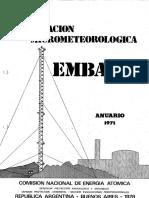 Central Nuclear Embalse - EsIA - Tomo 16 - Estación micrometeorológica