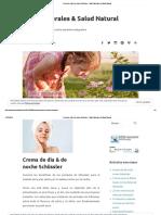 Crema de Día & de Noche Schüssler – Sales Minerales & Salud Natural