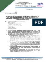 Division Memorandum No. 68 s. 2018