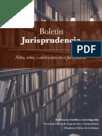 2018.06. Niños, Niñas y Adolescentes en El Fuero Federal