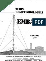 Central Nuclear Embalse - EsIA - Tomo 19 - Estación micrometeorológica