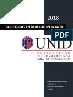 Tarea 7 Sociedades en Derecho Mercantil