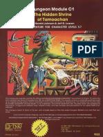 C1 - The Hidden Shrine of Tamoachan (Brown Cover)