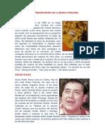 Los Representantes de La Musica Peruana