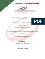 Actividad Nº 01 Criterios de Evaluación de La Primera Unidad