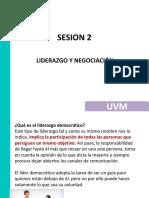 Sesion 2 Liderazgo y Negociación 8 de Junio Del 2018