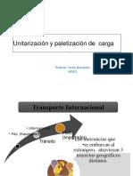 Unitarizacion Paletizacion Carga Clase