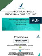 Off Label Use Dan Pv Siti a Abdoellah BPOM RI