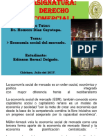Derecho Comercial Economia Social