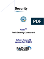 Audit 13.21 - UserManual