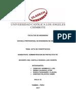 Acta de Constitucion Grupo01