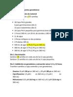 Protocolo genotóxicos
