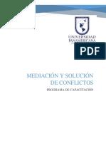 CAPACITACIÓN_Mediación y Solución de Conflictos_I PARTE