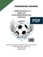 Proposal LPJ Soccer 6 - 2012
