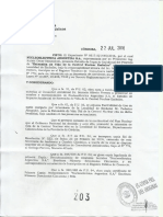 Central Nuclear Embalse - Resolución 203/16