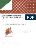 Sistem Koordinat Tiga Dimensi (r3) Dan